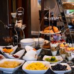 Our breakfast buffet