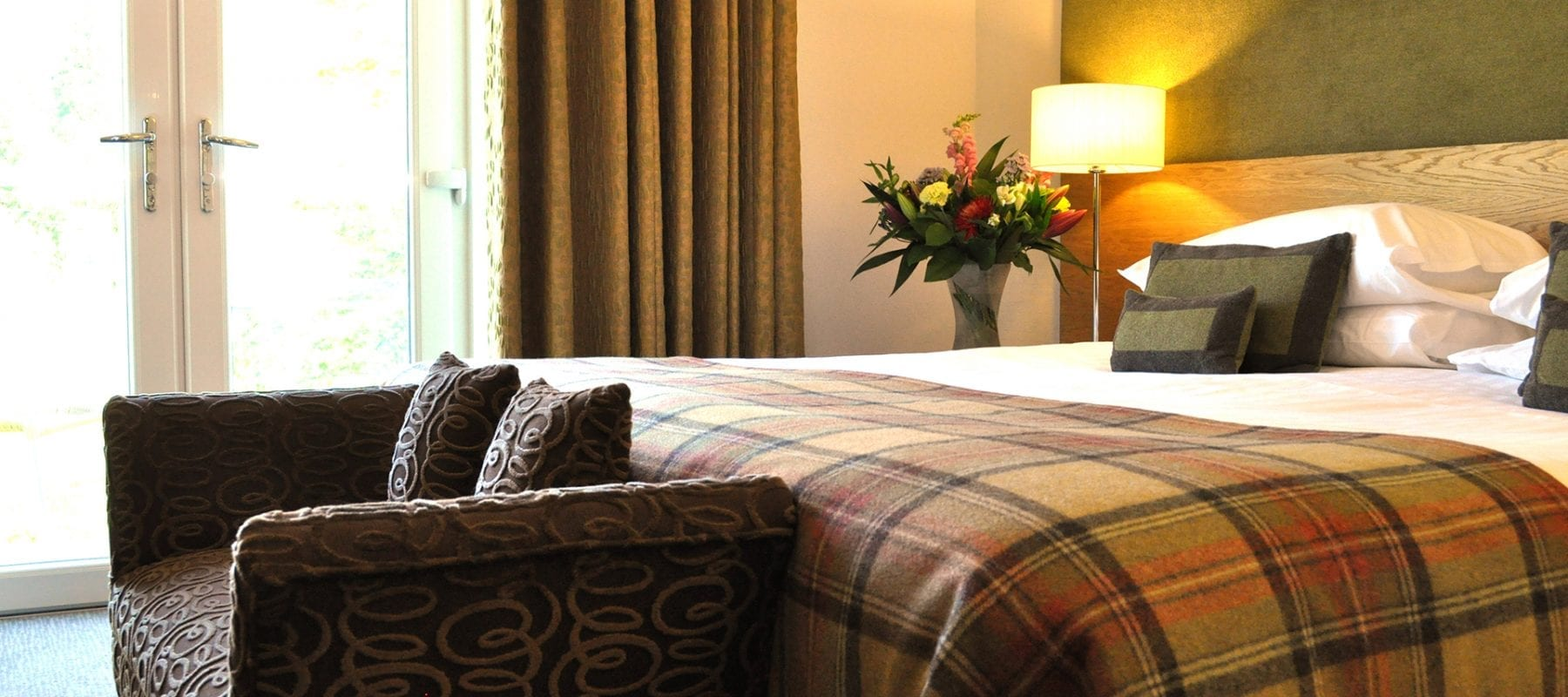 Risk-free Bookings for July & August from £99 per room B&B