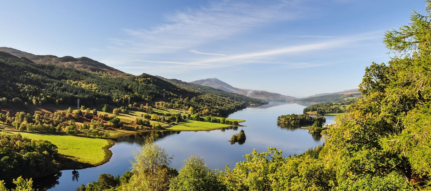 Breathe in the peace & tranquillity of Highland Perthshire at its finest