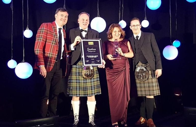 Craigmhor Lodge & Courtyard in Pitlochry wins award for best Guest House in Scotland