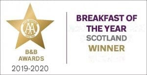 2019 Scottish Guest House Breakfast of the Year - The AA