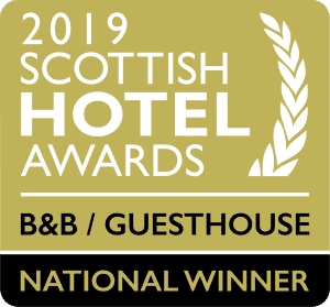 Best Guest House in Scotland 2019 at the Scottish Hotel Awards