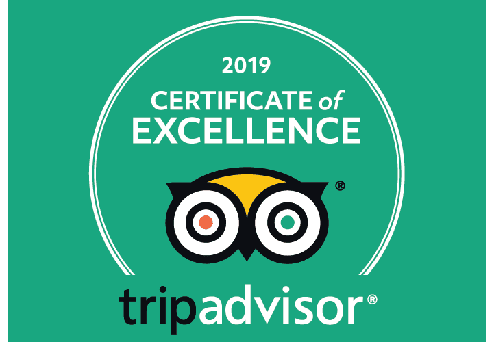 TripAdvisor 2019 Certificate of Excellence